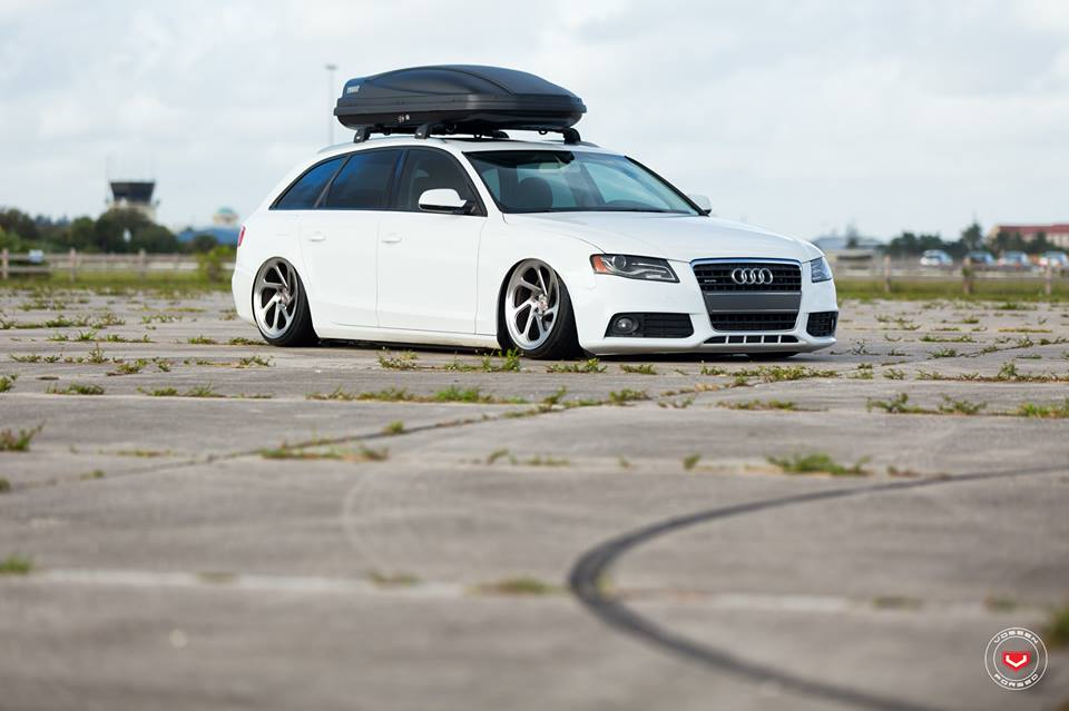 brandneue vossen lc 108t felgen am audi a4 b8 avant. Black Bedroom Furniture Sets. Home Design Ideas