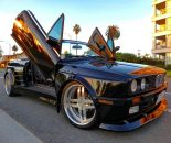 Widebody BMW E30 LSD Doors E36 M3 Motor Tuning 16 155x130 Ohne Worte   Widebody BMW E30 mit LSD Doors & M3 Motor