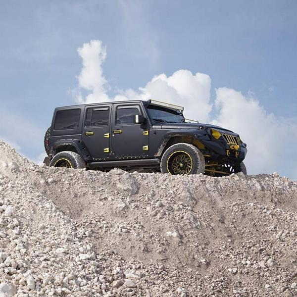Widebody Jeep Wrangler Tuning MC Customs 3 Fetter als ein Hummer   Jeep Wrangler von MC Customs