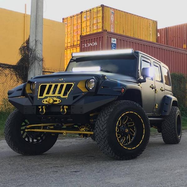 Widebody Jeep Wrangler Tuning MC Customs 4 Fetter als ein Hummer   Jeep Wrangler von MC Customs