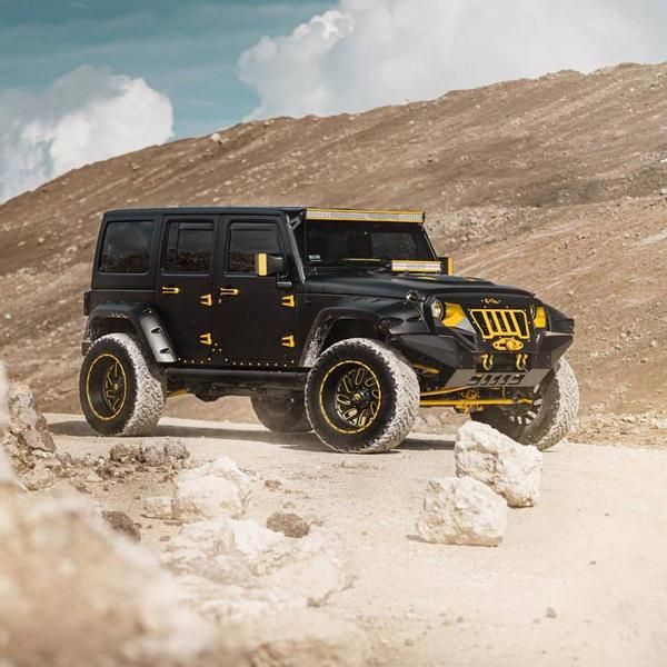 Widebody Jeep Wrangler Tuning MC Customs 5 Fetter als ein Hummer   Jeep Wrangler von MC Customs