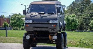 Widebody Mitsubishi Delica Monster Truck Tuning 18 310x165 Valkyrie 766 Bonkers BMW 7er (E32) 4x4 Monster Truck!