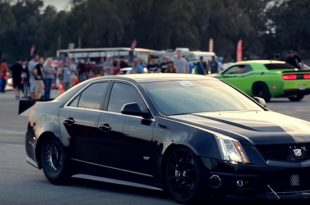 1.500PS Cadillac CTS V 2017 Weltrekord 6 310x205 Video: Verrückter 1.500PS Cadillac CTS V mit neuem Weltrekord