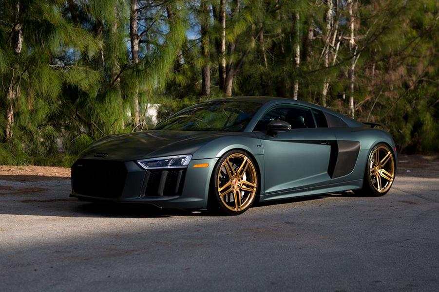 2017 Audi R8 V10 Plus Vossen Wheels HC 1 Carbon Tuning 13 2017 Audi R8 V10 Plus auf Vossen Wheels HC 1 in 21 Zoll