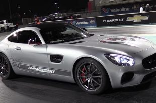 760PS Mercedes AMG GTS von PP Performance Tuning 2 310x205 Video: Viertelmeile im 760PS Mercedes AMG GTS von PP Performance