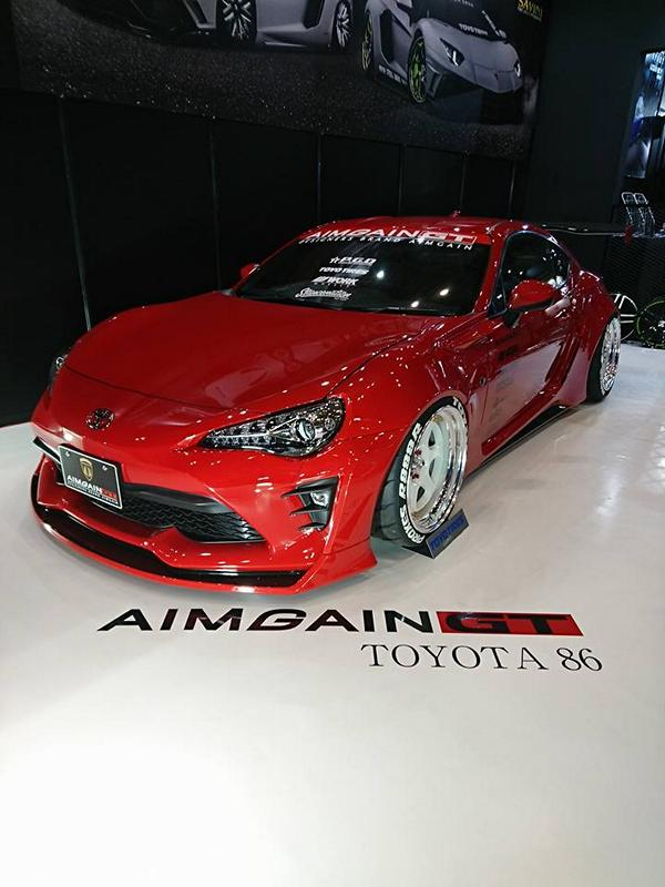 Aimgain 2017 Nissan GT R Toyota Gt86 Widebody Tuning 10 Aimgain Nissan R35 GT R & Toyota GT86 Widebody