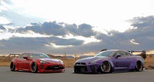 Aimgain 2017 Nissan GT R Toyota Gt86 Widebody Tuning 15 310x165 Camber Style und Widebody Kit am Toyota GT86 Coupe