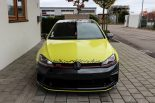 Ambulance Yellow Folierung VW Golf MK7 GTI Tuning 17 155x103 Unübersehbar   Ambulance Yellow am VW Golf GTI MK7