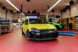 Ambulance Yellow Folierung VW Golf MK7 GTI Tuning 20 155x103 Unübersehbar   Ambulance Yellow am VW Golf GTI MK7