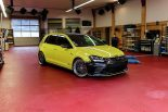 Ambulance Yellow Folierung VW Golf MK7 GTI Tuning 21 155x103 Unübersehbar   Ambulance Yellow am VW Golf GTI MK7