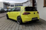Ambulance Yellow Folierung VW Golf MK7 GTI Tuning 24 155x103 Unübersehbar   Ambulance Yellow am VW Golf GTI MK7