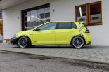 Ambulance Yellow Folierung VW Golf MK7 GTI Tuning 25 155x103 Unübersehbar   Ambulance Yellow am VW Golf GTI MK7