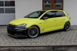 Ambulance Yellow Folierung VW Golf MK7 GTI Tuning 29 155x103 Unübersehbar   Ambulance Yellow am VW Golf GTI MK7