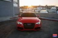 Audi A5 RS5 Coupe Airride Tuning Vossen VFS 1 2 190x126 Audi A5 RS5 Coupe mit Airride Fahrwerk & Vossen VFS 1 Alu's