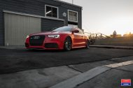 Audi A5 RS5 Coupe Airride Tuning Vossen VFS 1 5 190x126 Audi A5 RS5 Coupe mit Airride Fahrwerk & Vossen VFS 1 Alu's