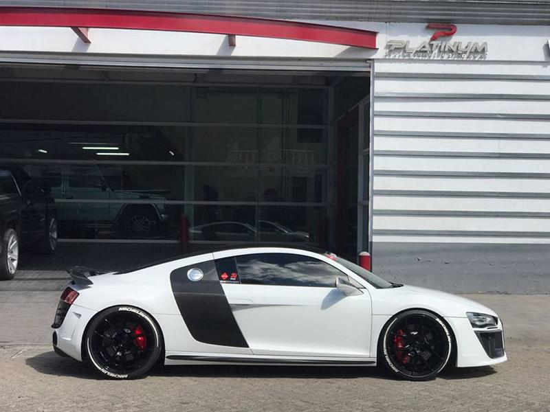 Audi R8 V10 Coupe Zito Wheels ZS05 Bodykit Tuning 9 Fett   Audi R8 V10 Coupe auf Zito Wheels ZS05 in 20 Zoll