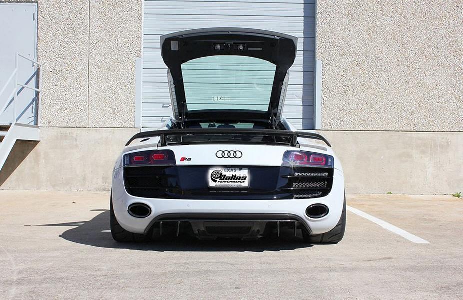 Audi R8 V10 Dallas Performance LLC BiTurbo Tuning 7 950PS am Rad im Audi R8 V10 von Dallas Performance LLC