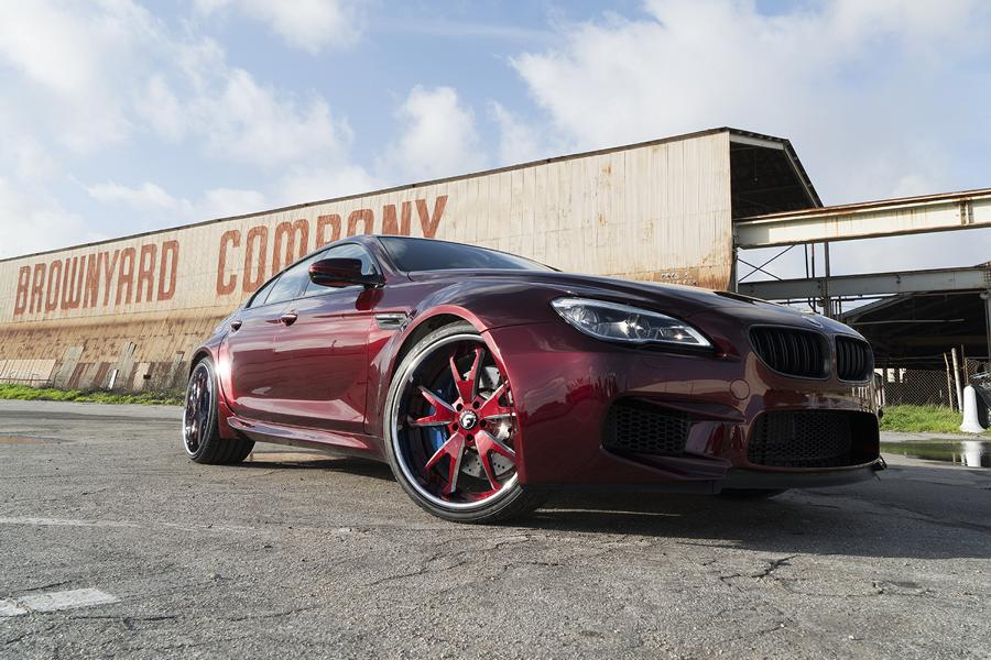 BMW F06 M6 Gran Coupe Widebody Forgiato Tuning 1 BMW F06 M6 Gran Coupe Widebody auf Forgiato Wheels