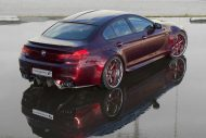 BMW F06 M6 Gran Coupe Widebody Forgiato Tuning 3 190x127 BMW F06 M6 Gran Coupe Widebody auf Forgiato Wheels