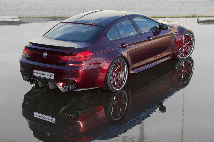 BMW F06 M6 Gran Coupe Widebody Forgiato Tuning 3 BMW F06 M6 Gran Coupe Widebody auf Forgiato Wheels