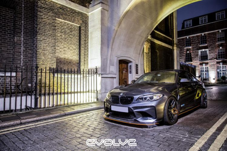 BMW M2 F87 Coupe Evolve Automotive Tuning Carbon Bodykit 5 Nachgeschärft   Evolve Automotive BMW M2 F87 Coupe