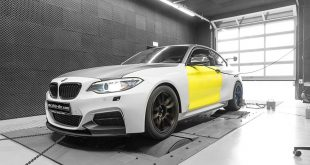 BMW M235i 3.0 Turbo Tracktool Chiptuning 7 310x165 Widebody BMW M235i Tracktool mit 392PS by Mcchhip DKR