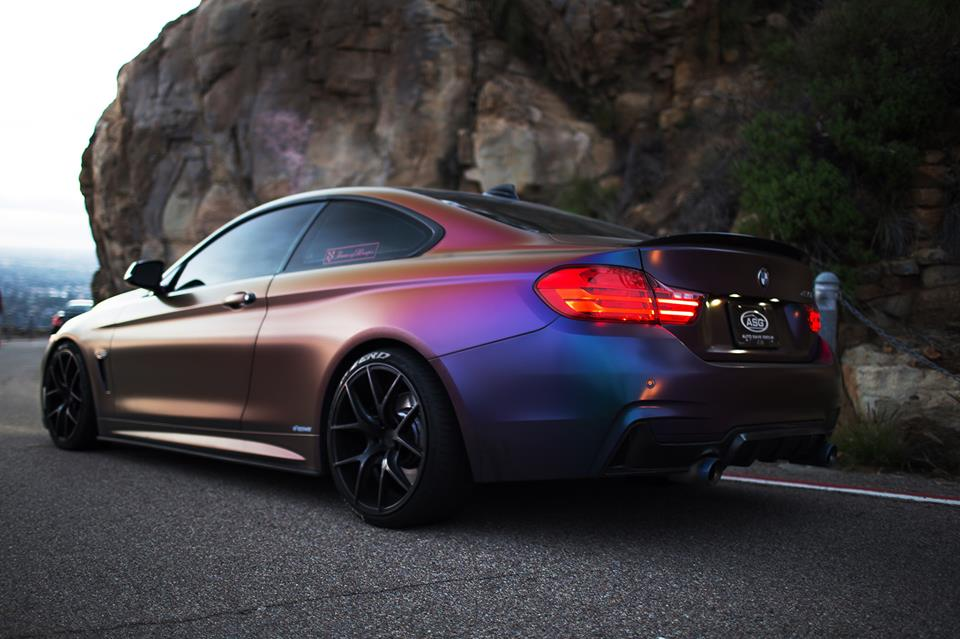 Farbwechsel Folierung Zito ZS05 Tuning BMW 435i Coupe F32 1 Farbwechsel Folierung & Zito ZS05 Alu's am BMW 435i Coupe