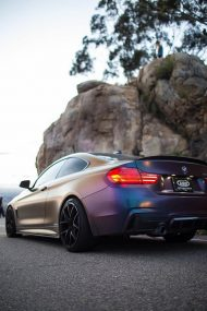 Farbwechsel Folierung Zito ZS05 Tuning BMW 435i Coupe F32 11 190x285 Farbwechsel Folierung & Zito ZS05 Alu's am BMW 435i Coupe