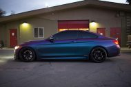 Farbwechsel Folierung Zito ZS05 Tuning BMW 435i Coupe F32 13 190x127 Farbwechsel Folierung & Zito ZS05 Alu's am BMW 435i Coupe