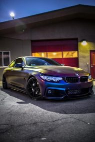 Farbwechsel Folierung Zito ZS05 Tuning BMW 435i Coupe F32 16 190x285 Farbwechsel Folierung & Zito ZS05 Alu's am BMW 435i Coupe