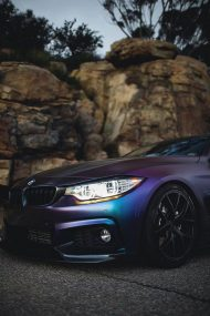Farbwechsel Folierung Zito ZS05 Tuning BMW 435i Coupe F32 3 190x285 Farbwechsel Folierung & Zito ZS05 Alu's am BMW 435i Coupe