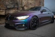 Farbwechsel Folierung Zito ZS05 Tuning BMW 435i Coupe F32 4 190x126 Farbwechsel Folierung & Zito ZS05 Alu's am BMW 435i Coupe