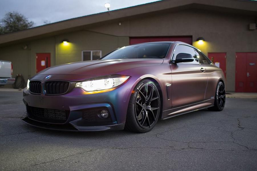 Farbwechsel Folierung Zito ZS05 Tuning BMW 435i Coupe F32 5 Farbwechsel Folierung & Zito ZS05 Alu's am BMW 435i Coupe
