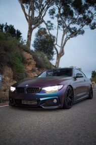 Farbwechsel Folierung Zito ZS05 Tuning BMW 435i Coupe F32 7 190x285 Farbwechsel Folierung & Zito ZS05 Alu's am BMW 435i Coupe