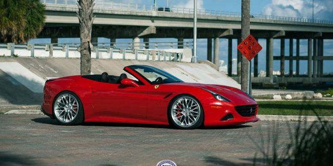 Wheels Boutique – Ferrari California T auf HRE S200 Alu's