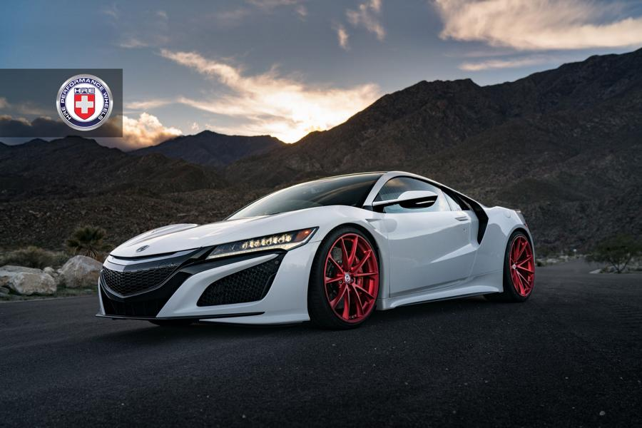 HRE Performance Wheels P204 2017 Acura NSX Tuning 6 HRE Performance Wheels P204 Alu's am 2017 Acura NSX
