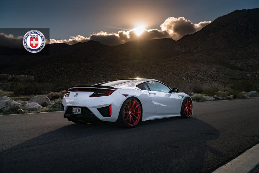 HRE Performance Wheels P204 2017 Acura NSX Tuning 7 HRE Performance Wheels P204 Alu's am 2017 Acura NSX