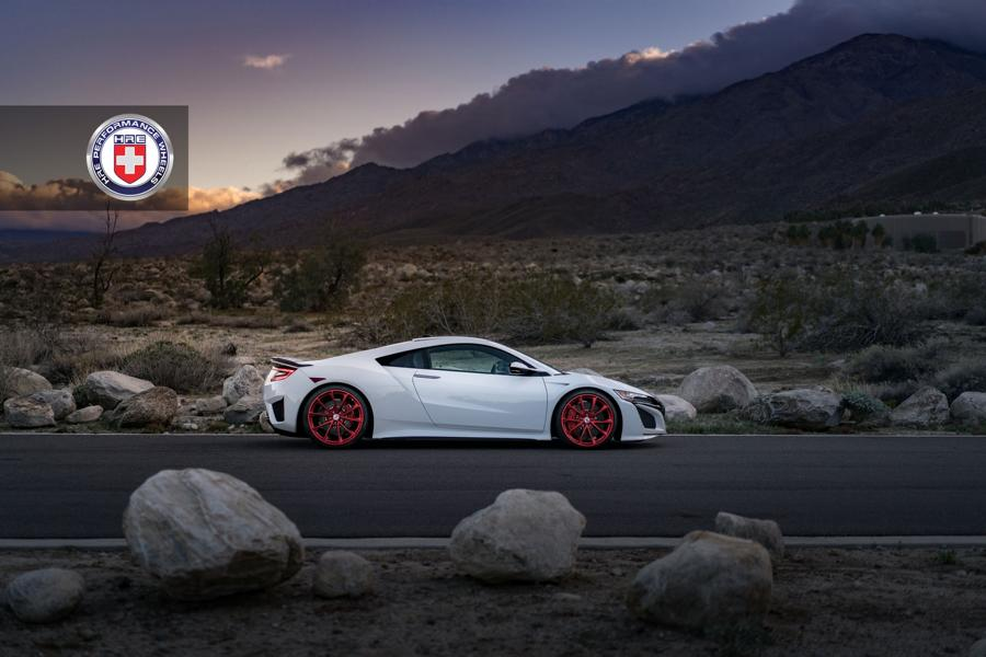 HRE Performance Wheels P204 2017 Acura NSX Tuning 8 HRE Performance Wheels P204 Alu's am 2017 Acura NSX