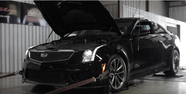 Hennessey HPE550 Kit Cadillac ATS V Chiptuning Video: Hennessey HPE550 Kit am Cadillac ATS V = 452PS am Rad