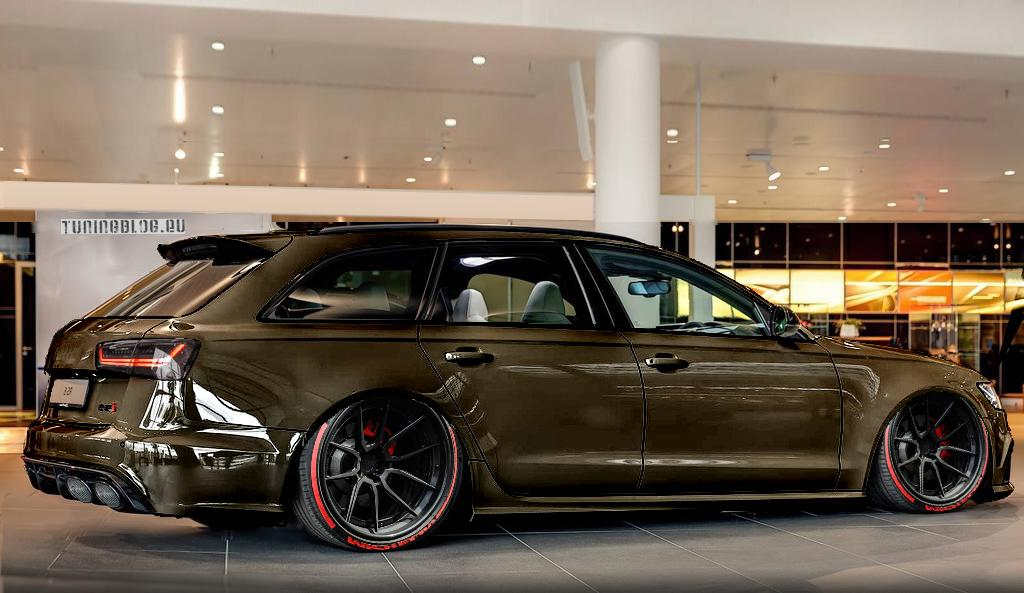 Kaffeebraun Amp Etwas Ratlook Am Audi Rs6 C7 Avant By