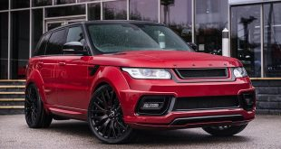 Kahn Range Rover Sport 4.4 SDV8 Autobiography Dynamic Pace Car Tuning 1 310x165 Land Rover Defender Pick Up vom Tuner Kahn Design