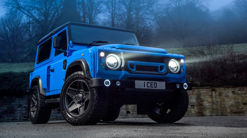 Land Rover Defender 2 1 Land Rover Defender 2.2 TDCI XS 90 THE END EDITION by Kahn