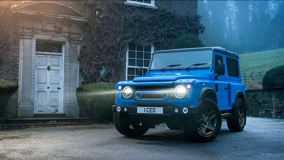 Land Rover Defender 2 3 Land Rover Defender 2.2 TDCI XS 90 THE END EDITION by Kahn