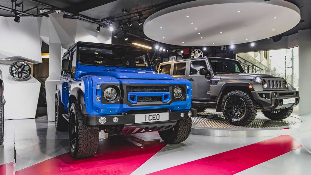 Land Rover Defender 2 4 Land Rover Defender 2.2 TDCI XS 90 THE END EDITION by Kahn