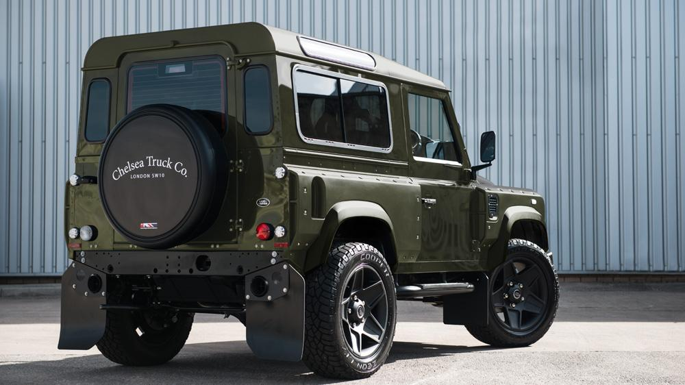 Land Rover Defender 2 2 Tdci Xs 90 The End Edition By Kahn
