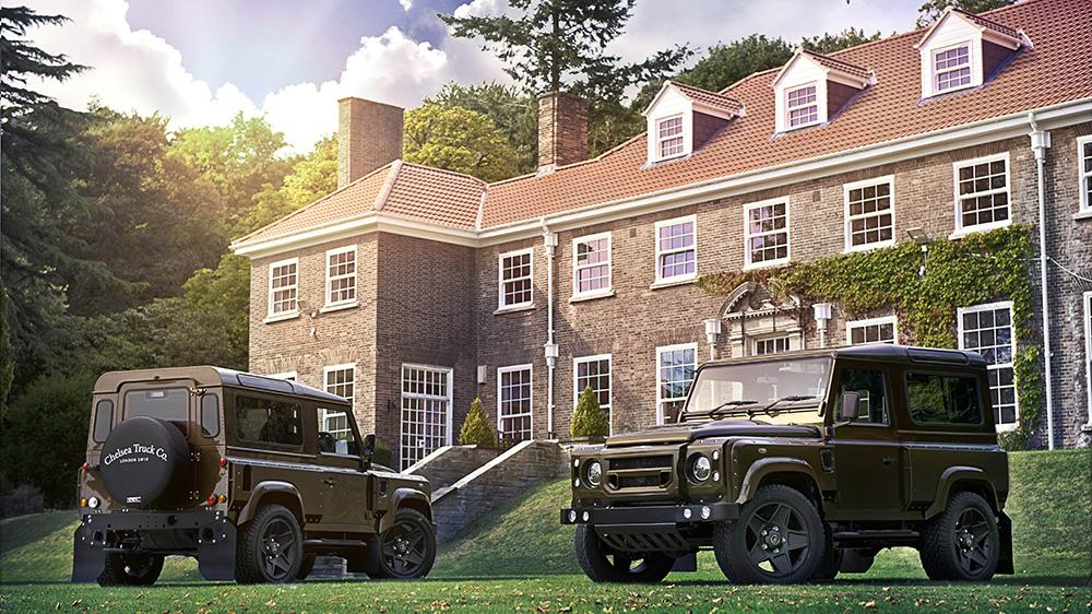 Land Rover Defender 2.2 TDCI XS 90 THE END EDITION Kahn Tuning 3 Land Rover Defender 2.2 TDCI XS 90 THE END EDITION by Kahn