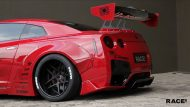 Liberty Widebody Nissan GT R Forgiato Wheels Tuning 7 190x107 RACE! South Africa   Nissan GT R Widebody auf Forgiato Wheels