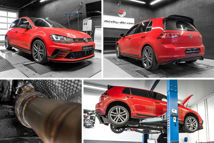 Mcchip Chiptuning VW Golf MK7 GTI Clubsport 5 Deutlich   VW Golf 7 GTI Clubsport mit 475PS & 510NM by Mcchip