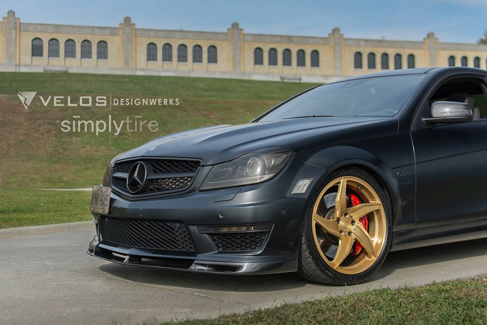 mercedes c63 w204 amg velos d5 felgen tuning 4. Black Bedroom Furniture Sets. Home Design Ideas