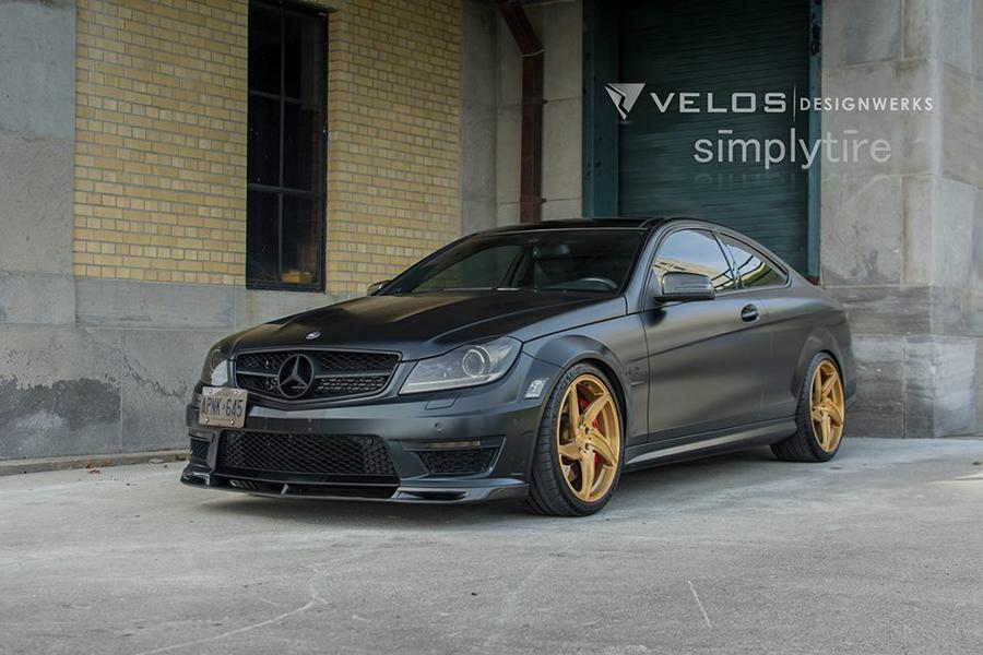 mercedes c63 w204 amg velos d5 felgen tuning 8. Black Bedroom Furniture Sets. Home Design Ideas